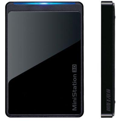 Внешний жесткий диск Buffalo MiniStation USB 3.0 1TB Black (HD-PCT1.0U3B-RU)