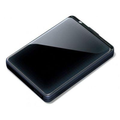 Внешний жесткий диск Buffalo MiniStation Plus USB 3.0 2TB Black (HD-PNT2.0U3GB-RU)