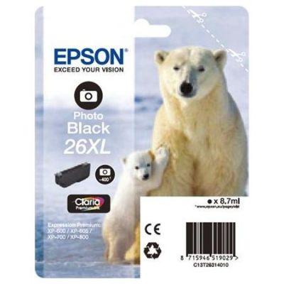 Картридж Epson 26XL Black/Черный (C13T26314010)
