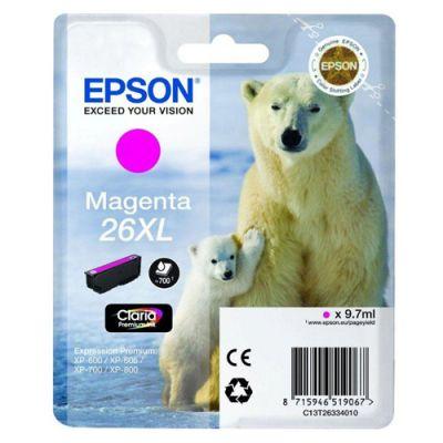��������� �������� Epson �������� (C13T26334010) epson 26XL ��� XP-600/700/800 (magenta) C13T26334010