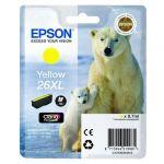 ��������� �������� Epson �������� (C13T26344010) epson 26XL ��� XP-600/700/800 (yellow) C13T26344010