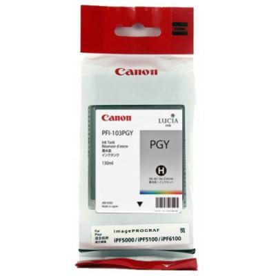 Картридж Canon PFI-103PGY Gray/Серый (2214B001)