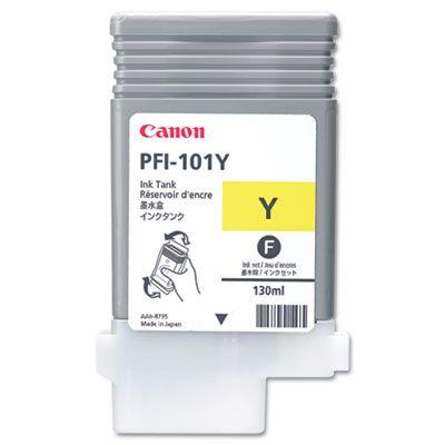 Картридж Canon PFI-101Y Yellow/Желтый (0886B001)