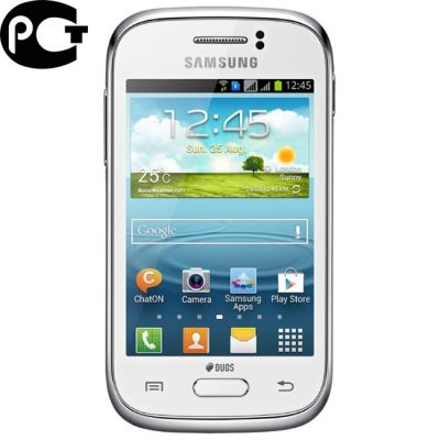 Смартфон, Samsung Galaxy Young Duos S6312 GT-S6312ZWASER