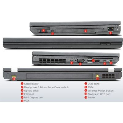 Ноутбук Lenovo ThinkPad T530 N1BDXRT