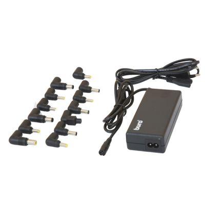 Buro Адаптер универсальный сетевой для ноутбуков, выход 12-24 В, 90 Вт, 13 переходников BUM-1287M90