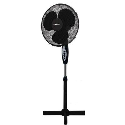 Вентилятор Scarlett напольный SC-1176 черный