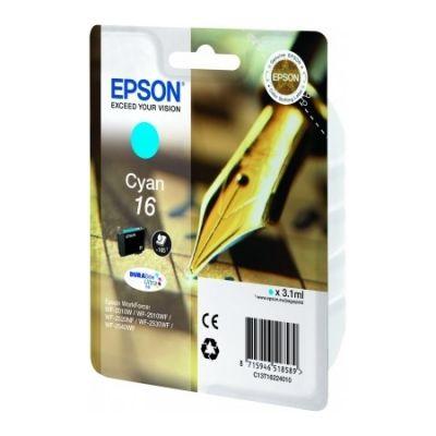 Картридж Epson Cyan/Голубой (C13T16224010)