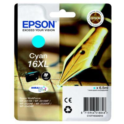 Картридж Epson Cyan /Зеленовато - голубой (C13T16324010)
