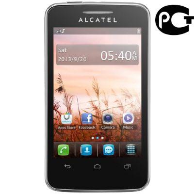 Телефон Alcatel 3041D Black