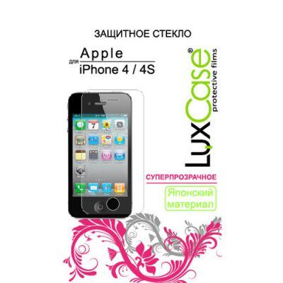 LuxCase Защитное стекло для Apple iPhone 4 (80281)