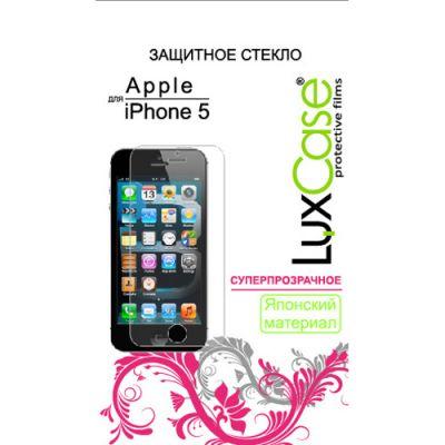 LuxCase Защитное стекло для Apple iPhone 5 (80282)