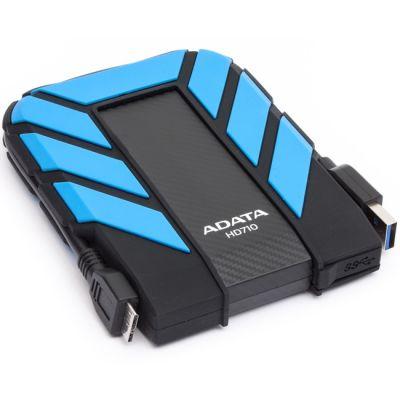 "Внешний жесткий диск ADATA HD710 2.5"" 500Gb USB 3.0 Blue AHD710-500GU3-CBL"