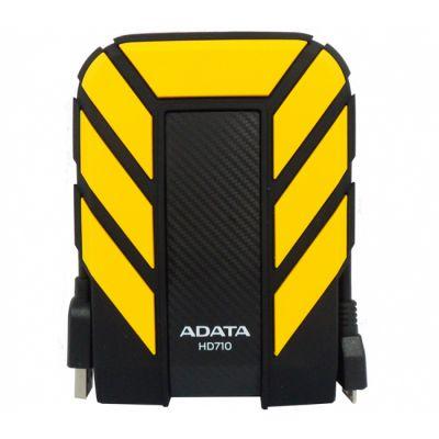 """������� ������� ���� ADATA HD710 2.5"""" 500Gb USB 3.0 Yellow AHD710-500GU3-CYL"""