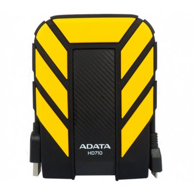 "Внешний жесткий диск ADATA HD710 2.5"" 1000Gb USB 3.0 Yellow AHD710-1TU3-CYL"