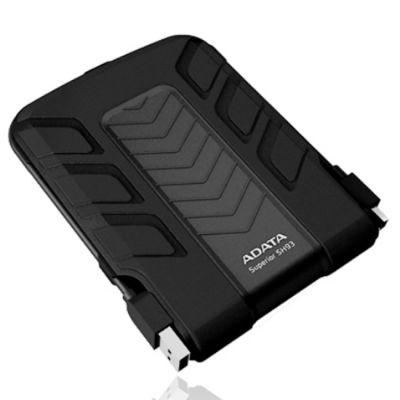 "Внешний жесткий диск ADATA SH93 2.5"" 500Gb USB 2.0 Black ASH93-500GU-CBK"