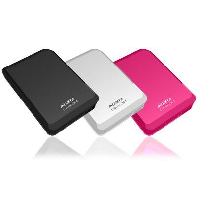 """������� ������� ���� ADATA CH11 2.5"""" 750Gb USB 3.0 White ACH11-750GU3-CWH"""
