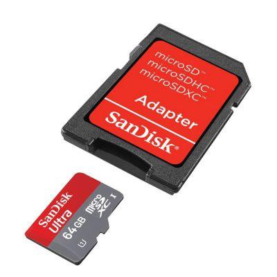 Карта памяти SanDisk Ultra Class 10 microSDXC 64GB SDSDQUA-064G-U46A