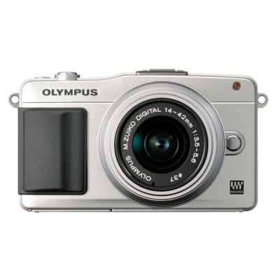 Компактный фотоаппарат Olympus Pen E-PM2 Silver+ EZ-M1442 II R Silver + BCL1580 kit incl. Charger + Battery V206021SE020