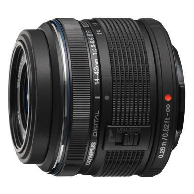 ���������� ����������� Olympus Pen E-PM2 Black+ EZ-M1442 II R Black + BCL1580 kit incl. Charger + Battery V206021BE020