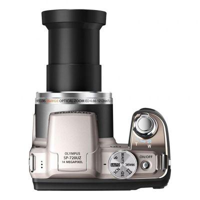 Компактный фотоаппарат Olympus SP-720UZ/Silver V103030SE000