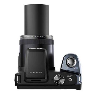 Компактный фотоаппарат Olympus SP-820UZ/Black V103050BE000