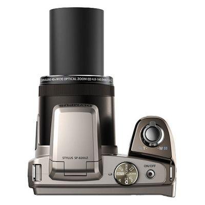 Компактный фотоаппарат Olympus SP-820UZ/Silver V103050SE000