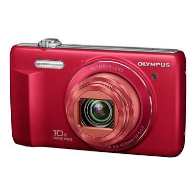 Компактный фотоаппарат Olympus VR-340/Red V105080RE000