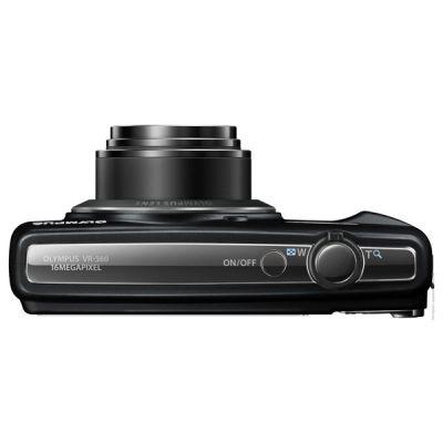 Компактный фотоаппарат Olympus VR-360/Black V105050BE000