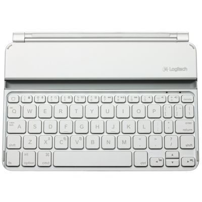Клавиатура Logitech Wireless UltraThin Keyboard для iPad mini (white) 920-005122