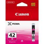Расходный материал Canon Картридж чернильный Canon CLI-42M (Пурпурный) 6386B001