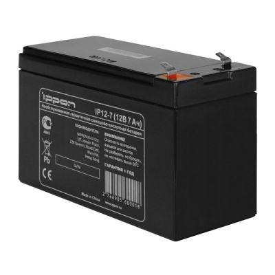 Аккумулятор Ippon IP12-7 12V/7AH