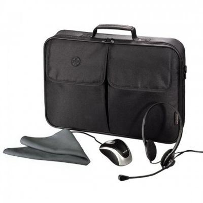 "Сумка Hama Комплект Starter-Kit: сумка для ноутбука 17.3"" H-39781"
