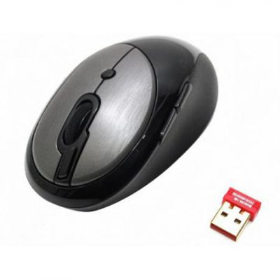 Мышь беспроводная A4Tech V-Track Grey USB G10-800F-2