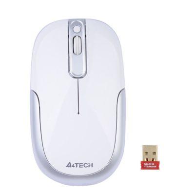 Мышь беспроводная A4Tech Holeless Silver USB G9-110H-2