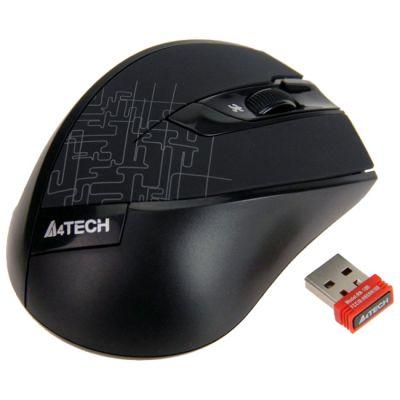 Мышь беспроводная A4Tech Holeless Black USB G9-600HX-1