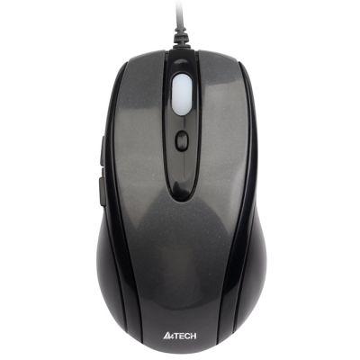 ���� ��������� A4Tech Holeless Grey USB D-708X-1