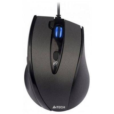 Мышь проводная A4Tech Holeless Black USB D-770FX-1