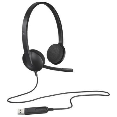 Наушники с микрофоном Logitech Headset H340 981-000475