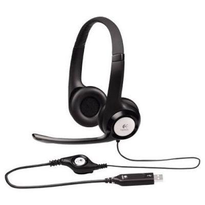 Наушники с микрофоном Logitech Headset H390 981-000406