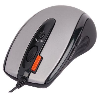 ���� ��������� A4Tech �������� ���� Silver-Black USB+PS/2 OP-720