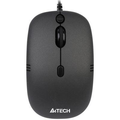 Мышь проводная A4Tech V-Track Black USB N-551FX