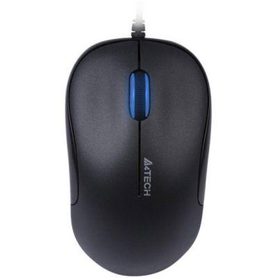 Мышь проводная A4Tech Holeless Black USB D-330-1