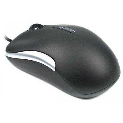 ���� ��������� A4Tech Holeless Silver-Black USB D-330-2