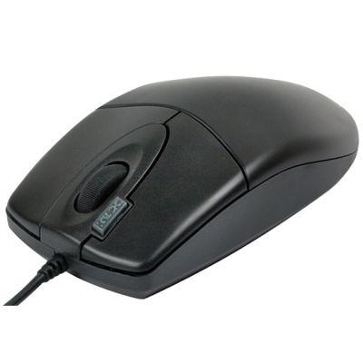 Мышь проводная A4Tech оптическая светодиодная Black PS/2 OP-620D-2