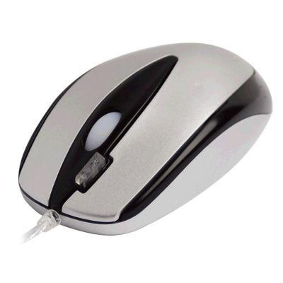 Мышь проводная A4Tech оптическая светодиодная Silver USB+PS/2 X5-3D