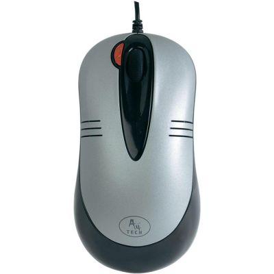Мышь проводная A4Tech оптическая светодиодная Grey USB+PS/2 X5-50D-2