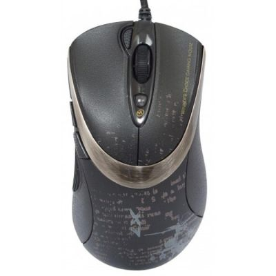 Мышь проводная A4Tech V-Track F4 Black USB