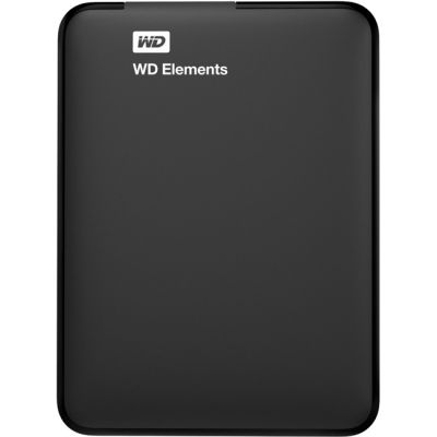 "Внешний жесткий диск Western Digital HDD USB3 1000GB 2,5"" WDBUZG0010BBK-EESN"