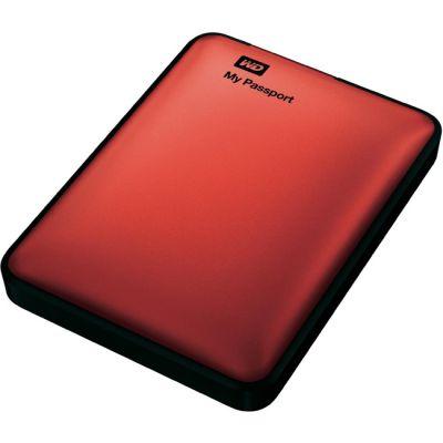 "Внешний жесткий диск Western Digital HDD USB3 1000GB My Passport Red 2,5"" WDBEMM0010BRD-EEUE"
